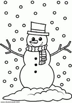 Kardan adam boyama sayfası, sayfaları indir yazdır, çıkart. Free snowman coloring pages download and printable. страница снеговика.