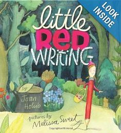 Book, Little Red Writing by Joan Holub