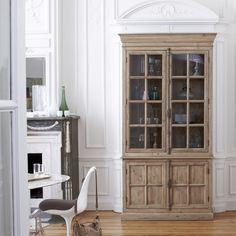 Pine bookcase 120x230 - Esther bookcases sale - Tikamoon