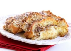 Overnight French Toast Casserole.  This could be good for Christmas morning or when having overnight guest.  Mmmmmmm