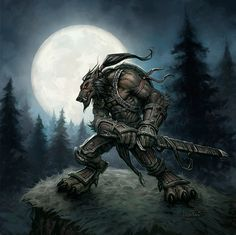This isn't any character in particular, just a fan art (Protection warrior worgen) in the Warcraft style. Description from deviantart.com. I searched for this on bing.com/images