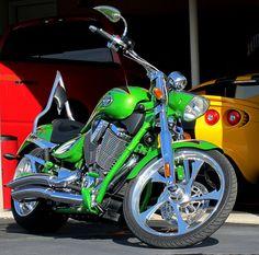 Victory custom Jackpot motorcycle