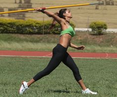 Leryn Franco, The Most Beautiful specialized athlete in the javelin throw - Tibba Leryn Franco, Michelle Jenneke, Javelin Throw, Safari, Action Poses, Summer Olympics, Female Athletes, Women Athletes, Athletic Women