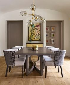 Lindsey Adelman Branching Bubble Chandelier For Dining Room