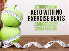 Studies Show Keto with No Exercise Beats Standard Diet and Exercise