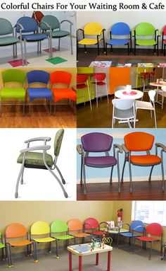 PediatricOfficeFurniture.com sells colorful waiting room chairs in colorful thermoplastics, vinyl and upholstery. We offer a 10 year guarantee and free shipping!