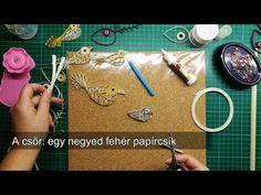 Játékos feladatokat, verseket és gyerekdalokat gyûjtöttünk össze - középpontban a madarak és a fák. Quilling Videos, Paper Crafts, Kids, Tutorials, Youtube, Young Children, Boys, Tissue Paper Crafts, Paper Craft Work