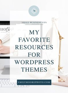 My Favorite Resources for WordPress Themes | Emily Moore | Private Photo Editor | emilymoorephoto.com | You want to refresh your WordPress website, but you're at a loss when it comes to finding a beautiful, affordable theme that works for your business. I know the feeling, which is why I've compiled this list of some of my favorite resources for WordPress themes! I guarantee one of these shops will have the template that you're looking for for your next big project! Wordpress Template, Wordpress Theme, Website Themes, Get To Know Me, Photo Editor, Business Tips, How To Start A Blog, Fun Facts, Big Project