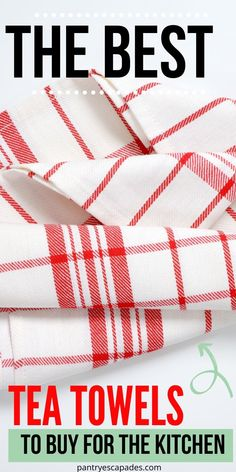 What are the Best Tea Towels 2020? | Where do you Buy tea Towels? | What Kind of Tea Towels Should you Use? | What are the Best Looking Tea Towels? | Which Tea Towels are the Most Absorbent? | What Tea Towels Should I Buy? | What are the Longest Lasting Tea Towels? | #teatowels #kitchenware #kitchendiy #kitchenstyle #accessories Buy Tea, Long A, Diy Kitchen, Kitchen Accessories, Home Organization, Tea Towels, Kitchenware, Cleaning Hacks, Pantry