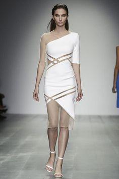 David Koma Ready To Wear Spring Summer 2015 London