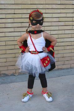 Homemade No Sew Supergirl Costume | Mama. Papa. Bubba.