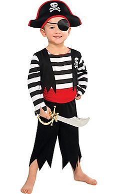 Toddler Boys Rascal Pirate Costume                                                                                                                                                                                 More