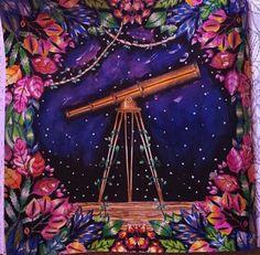Inspirational Coloring Pages by Laurie Routier #inspiração #coloringbooks #livrosdecolorir #jardimsecreto #secretgarden #florestaencantada #enchantedforest #reinoanimal #animalkingdom #adultcoloring #milliemarotta