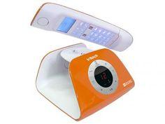 Telefone Digital Sem Fio VTech 5 Ramais - c/ Identificador de Chamadas Retro Phone - O com as melhores condições você encontra no Magazine Voceflavio. Confira!
