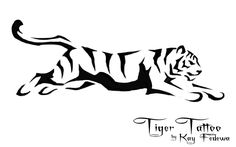 Tiger Tattoo by ~KayFedewa on deviantART