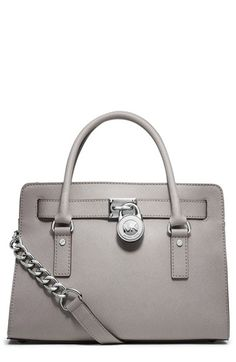 MICHAEL Michael Kors 'Hamilton' Saffiano Leather Satchel available at #Nordstrom I need a new bag!