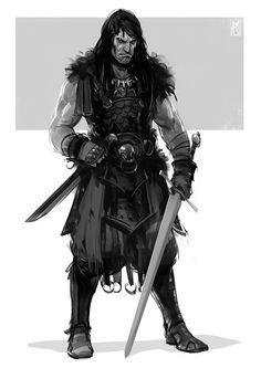 Borislav Mitkov - Illustration/Concept Art: 2 characters