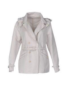 VIOLANTI Women's Overcoat Beige 4 US