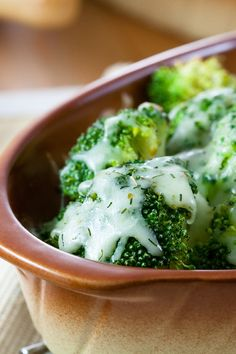Creamy and Delicious Roasted Broccoli Side Dish #Recipe