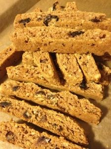 Dairy and gluten free biscotti