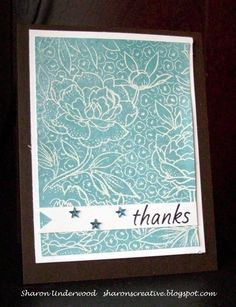 Sharon's Creative Essence: Stretch Your Stamps 2
