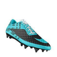 premium selection bcc3e ac1a1 I designed the aqua Blackburn Rovers Nike football shoe.