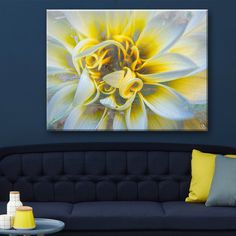 Ready2hangart 'Painted Petals XXXVII' Canvas Wall Art - Overstock™ Shopping - Top Rated Ready2hangart Canvas