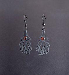 Earrings modern contemporary handmade limited edition di DeUno