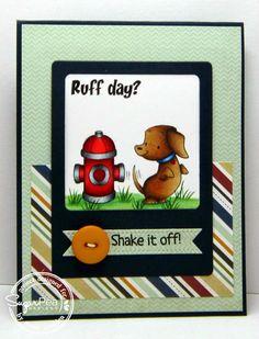 Just A Pigment Of My Imagination: SugarPea Designs SPDSS22 - Ruff Day?