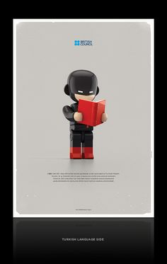 British Council Poster Project by Mehmet Gozetlik, via Behance