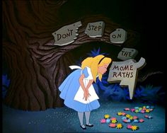 Screencap Gallery for Alice in Wonderland Bluray, Disney Classics). Disney version of Lewis Carroll's children's story. Alice becomes bored and her mind starts to wander. She sees a white rabbit who appears to be in a Disney Home, Disney Art, Disney Movies, Disney Pixar, Walt Disney, Disney Wiki, Alice Disney, Disney Ideas, Disney Cartoons