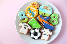 Real Madrid Club cookies