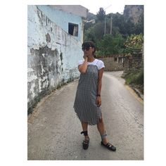 Pin for Later: This Little Ballet Flat Is Already Fall's Hottest Shoe Hot Shoes, Holiday Fashion, Miu Miu Ballet Flats, Popsugar, Refashion, Indie, Ootd, Shirt Dress, Clothing