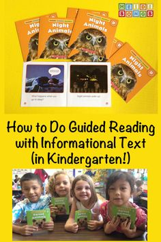 How to Do Guided Reading with Informational Text! (In Kindergarten!)