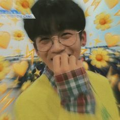 ✓〔COMPLETED〕 ·˚✎ in which yohan is unsure of his feelings for cali ┈… Story Produce 101, Mamamoo, Who Are You School 2015, Monsta X, Aesthetic Boy, Aesthetic Yellow, Lucas Nct, Lil Boy, Rare Photos