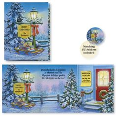 Looking for a nice way to put your personal touch on Christmas this year? The Inviting Lamppost Christmas Card is the perfect way to say Merry Christmas to all your friends and relatives. Drake, Happy New, Are You Happy, Personalised Christmas Cards, Merry Christmas To All, Affordable Home Decor, Organizer, Touch, Lights