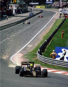 Ayrton Senna, when F1 was proper racing!