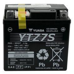 Bateria de Moto, Scooter e Quadriciclo YTZ7S Yuasa