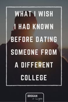 dating while going to different colleges