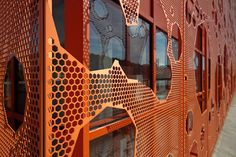 Le Cube Orange 07 by numstead, via Flickr