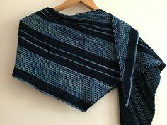 Bryum by Berangere Cailliau, knitted by Ggette | malabrigo Mechita in Azul Profundo and Pegaso