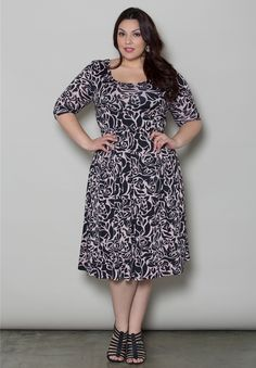 Skylar Dress $59.90 by SWAK Designs #swakdesigns #PlusSize #Curvy