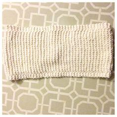Borders Bandeau by ChandlerKnits on Etsy #bandeau #summer #knitwear #handmade