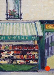 Parisian Fruit Market  - these were painted the Summer of 2011 in Paris, France by Paul Ferney.