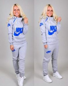9ed4dfc628c7 sweater nike style jumpsuit tracksuit longsleeve sweatpants sportswear  sporty chic hoodie pants and THOSE SHOES