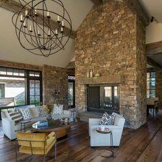 Modern Fireplace Walkaround Design, Pictures, Remodel, Decor and Ideas. walkaround