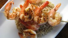 Grilled Garlic Butter Shrimp Recipe on Yummly