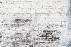 White Brick Wall Background by FunkyMedia on @creativemarket