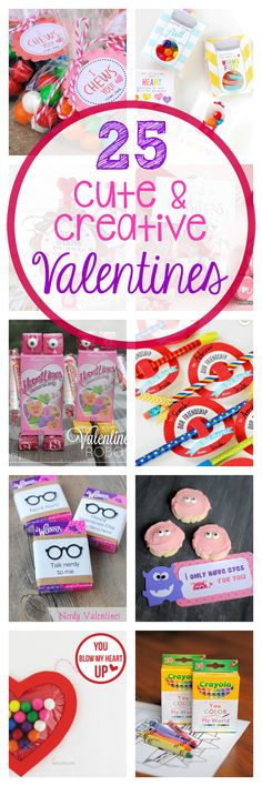 Here are 25 cute and creative Valentine's Day ideas for you to use this year. Easy to print and perfect for kids. Valentines Day Food, Creative Valentines Day Ideas, Valentine Day Love, Valentines For Kids, Valentine Day Crafts, Printable Valentine, Printable Cards, Creative Ideas, Fun Ideas