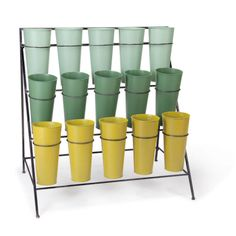 Flower Bucket Display - Perfect for shop or garden.